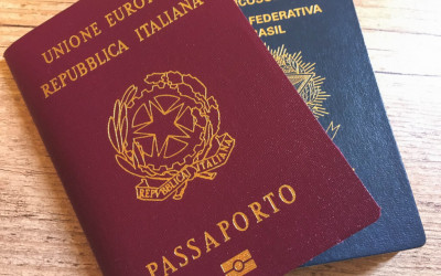 AGENDAMENTO DO PASSAPORTE ITALIANO
